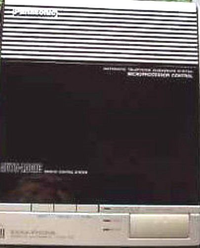 Panasonic model KX T1418 EasaPhone telephone Answering Machine dual cassette