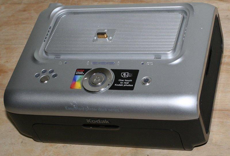 Kodak EasyShare Series 3 camera printer dock photo picture easy share ser. three
