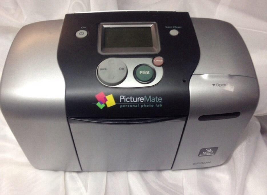 EPSON Picture Mate model B271A printer digital photo lab portable