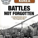 Korea Battles NOT Forgotten DVD 4 disc set National Archives President Truman