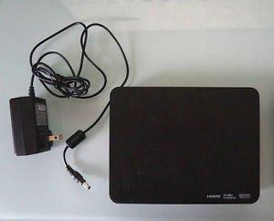 Western Digital WDBACA0010BBK media streamer HDMI WD TV Live Hub USB DTS console