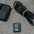 NIKON MH 65 charger w/EN EL12 BATTERY camera power supply adapter cord CoolPiX
