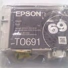 Epson T0691 BLACK ink jet printer NX300 NX305 NX400 NX415 NX510 NX515 to691 69