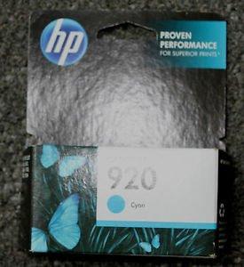 920 HP BLUE cayan ink jet cartridge - printer OfficeJet 6000 6500 A 7000 7500 A