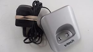 VTECH CS6619 remote charge base wP cordless phone satellite handset cradle stand