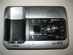 vTech 6032 Main CHARGER BASE wP charging stand cradle Caller ID Answering System