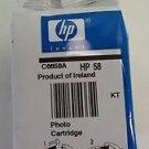 58 photo cartridge ink jet - HP PhotoSmart 7350 7660 7960 7760 7550 7350 printer
