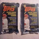 Fat Packs - 2 (two) new sealed - 2000 TOPPS ser. 1 baseball cards - up to 40ea.