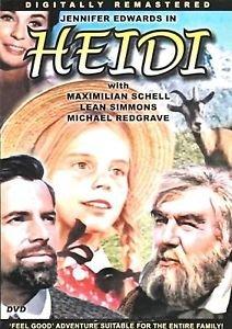 Jennifer Edwards Heidi DVD (color) Max Schell Michael Redgrave Johana SPYRIS