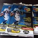 3 packs football new - 1999 UPPERDECK HOLOGRFX holografics autographs rookie NFL