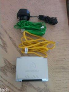 Motorola AT T DSL Modem model 2210 02 1006 High Speed ethernet internet dialup