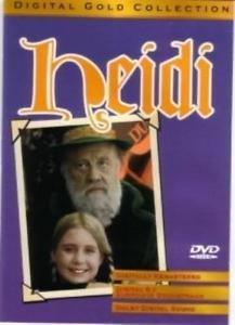 Heidi DVD (digital color) Burl Ives Jean SIMMONS Michael REDGRAVE Johana SPYRIS
