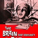 The Brain That Wouldn t would not Die DVD Jason EVERS Virginia LEITH black & whi