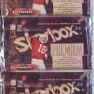 3 packs football new 1999 SKYBOX PREMIUM autographics HOBBY NFL
