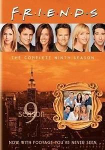 FRIENDS Ninth 9th Season Nine 9 boxed 4 DVD set 2005 Jennifer ANISTON 620mins