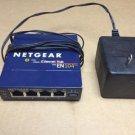 Netgear Hub EN104 TP 10 MBPS 4port uplink button ethernet internet switch base-T
