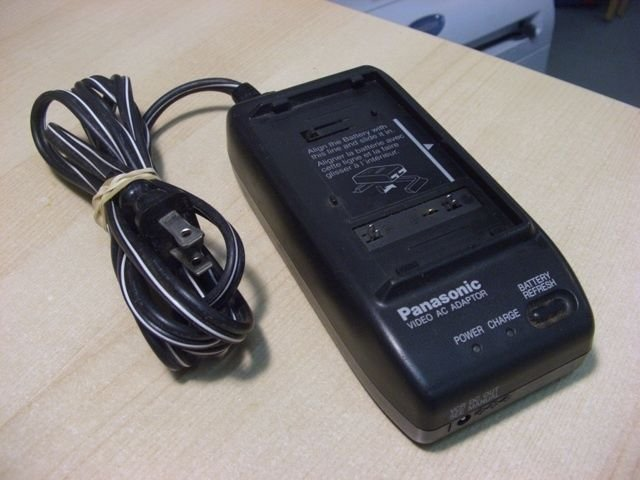 Panasonic battery charger - PV D300D video camcorder VHS C palmcorder PalmSight