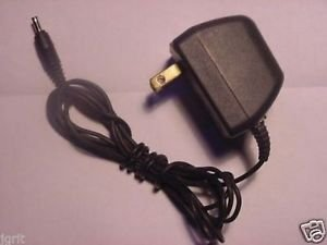 4.5v 250mA 4.5 volt ADAPTER cord = Sony clock radio cassette PSU plug wall ac dc