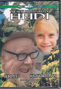 The New Adventures Of Heidi DVD (color) Burl Ives Katy Kurtzman Johana SPYRIS