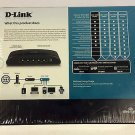D Link DES 1005E green 5port 10/100 FAST ethernet switch multi networking router