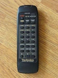 Technics EUR643806 Remote Control - SL PD888 compact disc 5 CD Changer player