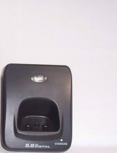 AT T E5643B remote base = cordless tele phone charger charging stand cradle att