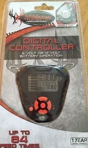 new - Wildgame Innovations hunting TDX Digital 84 time feeder Controller feeding