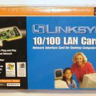 Windows XP LINKSYS LNE100TX broadband EtherFast 10/100 internal network Card LAN