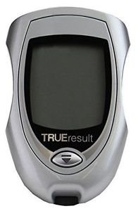 TRUE RESULT - METER w/case ONLY - blood glucose diabetic monitor guage
