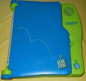 PRE TESTED LeapPad LeapFrog LEARNING SYSTEM w/pre MATH & brand new headphones