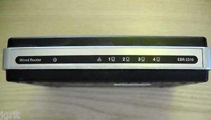 D LINK EBR 2310 ROUTER - 4 PORT WIRED ETHERNET BROADBAND 10/100MPS internet LAN