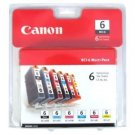 Canon BCI 6 Pack Set Color Ink - printer S9000 S830D S820D i9100 i960 i950 i900D