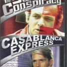 2movie Swiss Conspiracy & Casablanca Express DVD COLOR Glenn FORD David JANSSEN