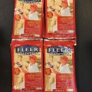 4 new baseball PACKs 1999 FLEER TRADITION HOBBY Stan MUSIAL Derek JETER