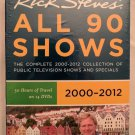 Rick Steves Europe: All 90 Shows (DVD, 2011, 14-Disc Set)  Sealed, new in box