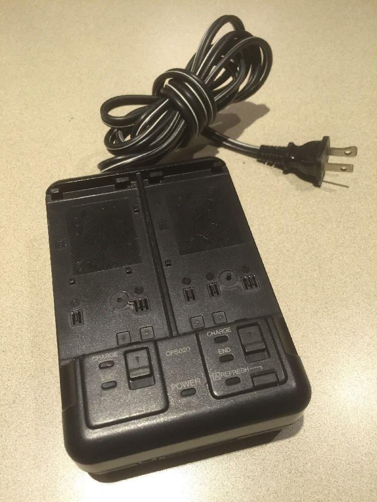 dual Battery Charger = JVC VHS videomovie GR AX60 AX70 AX74 AX75 AX720 AXM220