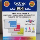 LC51CL BROTHER tri color ink - Printer MFC 665CW 680CW 685CW 845CW 885cw 465CN