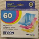 Epson 60 cayan magenta yellow ink printer c68 c88 cx7800 cx4800 cx3800 cx5800f