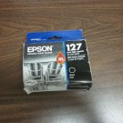 Epson 127 XL black ink = WorkForce WF 7520 WF 7510 WF 7010 WF 3540 3520 printer
