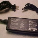 24v 24 volt adapter cord - Epson model J211A scanner electric cable power plug