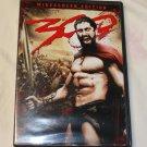 300 DVD WS Gerard BUTLER Rodrigo SANTORO Xerxes Persia Sparta Thermopylae battle