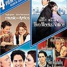 4movie DVD Hugh GRANT Sandra BULLOCK Music Lyrics,Two Weeks Notice,Big Adventure
