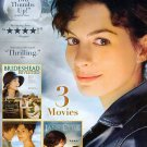 3movie DVD Brideshead Revisited,Becoming Jane,Jane Eyre,Anne HATHAWAY