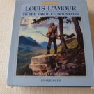 Louis L'Amour To the Far Blue Mountains 8 CD audio book 9hours John CURLESS