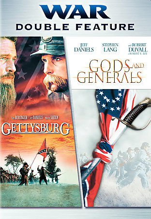 GETTYSBURG and GODS & GENERALS DVD 2Disc Tom Berenger Robert Duvall Jeff Daniels