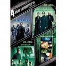 4movie DVD The Matrix RELOADED REVOLUTIONS ANIMATRIX Hugo WEAVING Gloria FOSTER