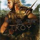 TROY dvd 2004 Brad Pitt,Orlando Bloom,Peter O'Toole,Sean Bean,Diane Kruger