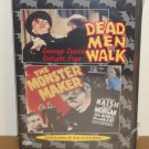 2movie Dead Men Walk,Monster Maker DVD George Zucco,Dwight Frye,Sam Newfield