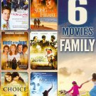 6movie DVD The Mighty,A Song From The Heart,Music of the Heart,Solomon's Choice