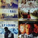 4movie DVD JEKYLL & HYDE,SERPENT's KISS,LOVE & RAGE,LEADING MAN,Michael CAINE